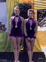 Duo DF2 Célia et Margaux, Médaillées de Bronze