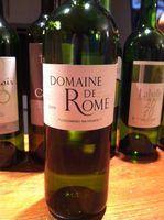 Domaine de Rome 2009 - Degustation Gascogne