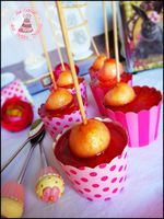 cupcakes pomme amour