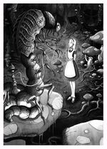 Michael Brack Alice and the Caterpillar by super sheep