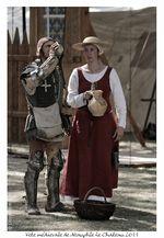 Médiévales de Neauphle - Attaque de fort 034