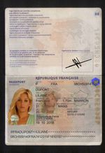 PASSEPORT LILIANE