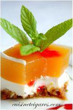 Cheesecake sans cuisson Menthe Melon Trio 2