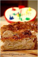 Clafoutis aux Pommes 2