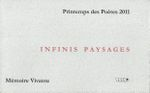 infinis paysages