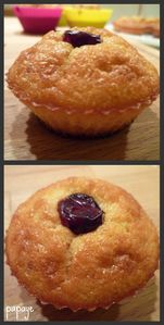 muffins canneberges