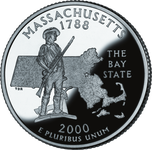 MASSACHUSSETTS Quarter