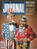 comics journal 122 cover