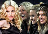Actresses from 'Nine' went together to Madonna's concert in 2008