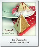 gateau sans cuisson 2013, les pyramides