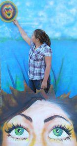 Artiste peintre ardennes sedan tableau vivant Flo -copie-39
