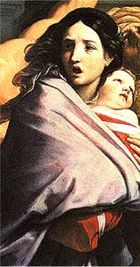 Guido Reni Mass Inno -detail - 1611- Bologne - Pinacoteca