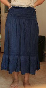 bleu smock
