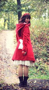 Manteau Alice Wonderland