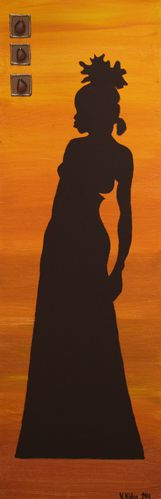 Silhouette africaine