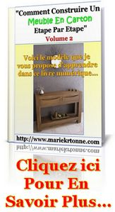 table et chaise en carton pour enfant meubles en carton marie krtonne. Black Bedroom Furniture Sets. Home Design Ideas