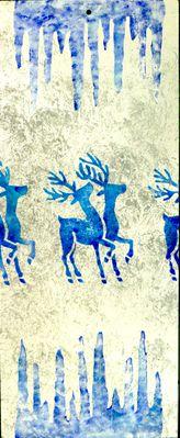 Pochoir Noël Modèle 2