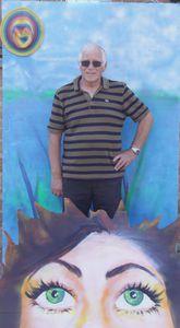 Artiste peintre ardennes sedan tableau vivant Flo 13