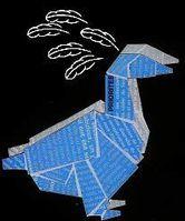 canard bleu panache