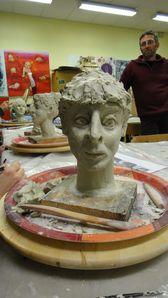 L'Atelier de Flo 08-Argile-Portrait-Croquis 19
