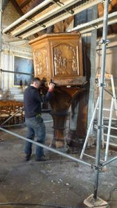 restauration chaire 044