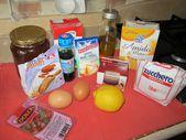 ingredienti muffin verdi