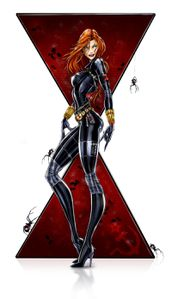 Black Widow by jamietyndall