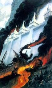 La Chute de Gondolin (Alan Lee)