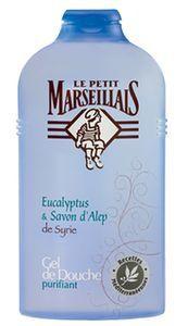gel douche eucalyptus savon alep purifiant