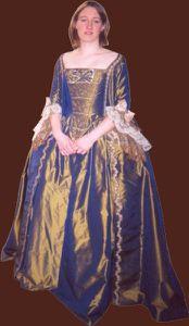 robe volante 18ème siècle