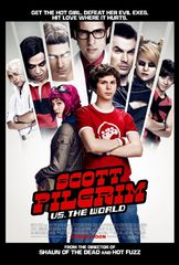 Scott Pilgrim vs the world new poster