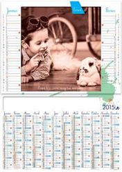 calendrier personnalisable 2015 animal de compagnie