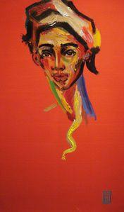 143 El genio del Jeanne D´Arc 2013 (100 cm x 62 cm)
