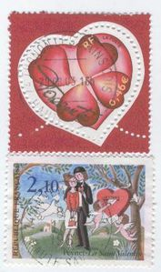 TIMBRES COEURS