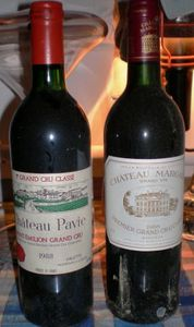 Pavie 88 vs Margaux 88