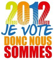 CFDT 2012 Adresse aux candidats Logo