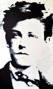 Arthur Rimbaud - Pop Art WIP 02