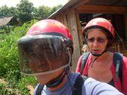 Viet Nam 2009 - Photos JD - J32 - Paksé 013 - A moto