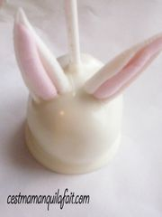 cake pop lapin de paque tout doux fluffy bunny cake pop (4)
