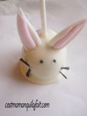 cake pop lapin de paque tout doux fluffy bunny cake pop (5)