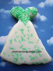 biscuit 3D pour marriage robe de marriée (1)