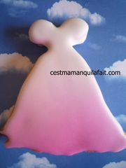 biscuit 3D pour marriage robe de marriée (14)