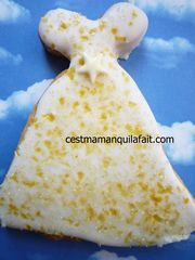 biscuit 3D pour marriage robe de marriée (9)