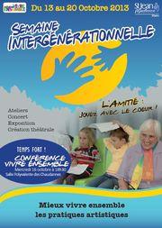 Semaine integénérationnelle 2013