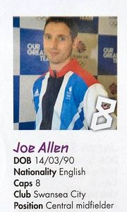 Joe Allen Nationality English