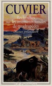 cuvier les fossiles