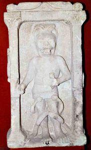 mithra stèle découverte à Bordeaux , religion importée