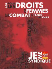 Affiche Pour le droits des femmes