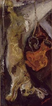 84 Nature morte Soutine 1923-24 Le Lapin Musée de l'Orange
