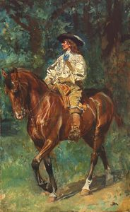 meissonier-mounted-cavalier